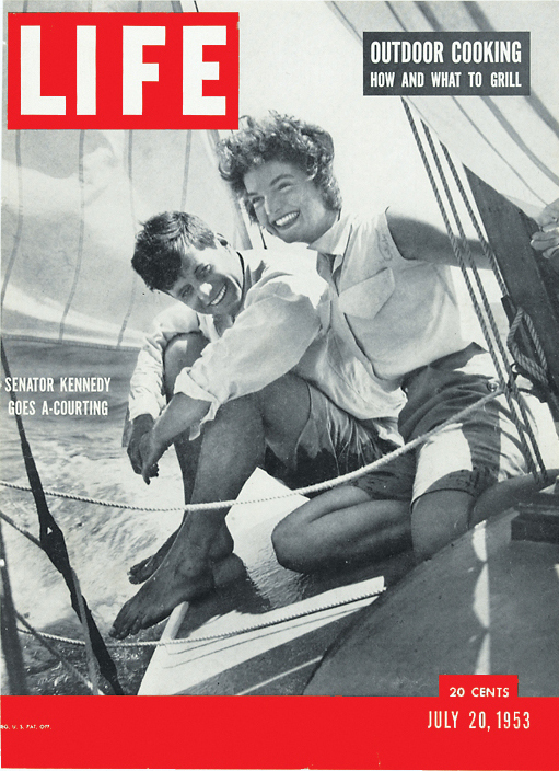 life: On this day in LIFE — July 20, 1953: Senator Kennedy goes a-courting. See more photos of JFK here.