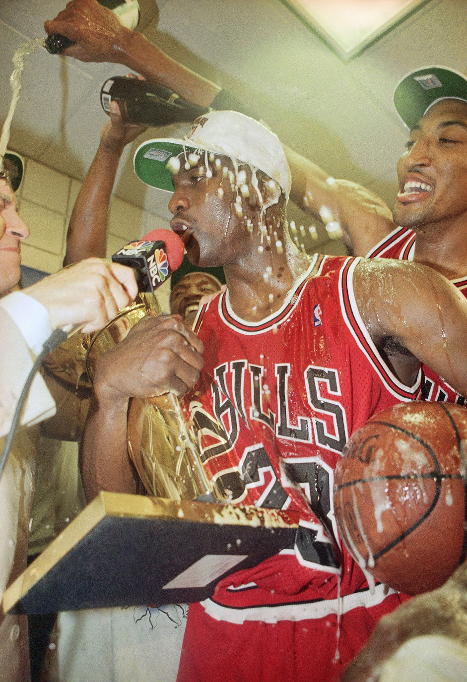 phuckindope :     Michael Jordan aka G.O.A.T.