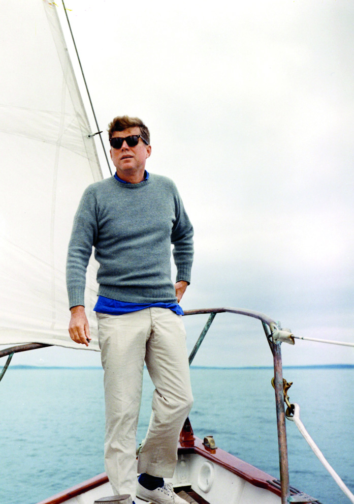 girlslikemenwhodresswell: stylegirlfriend: Everyone uses Presidents' Day as an excuse to post pictures of JFK on boats, right? Yeah, pretty much.. I think so…