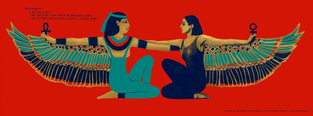 Woman Spirit (Goddess Isis)