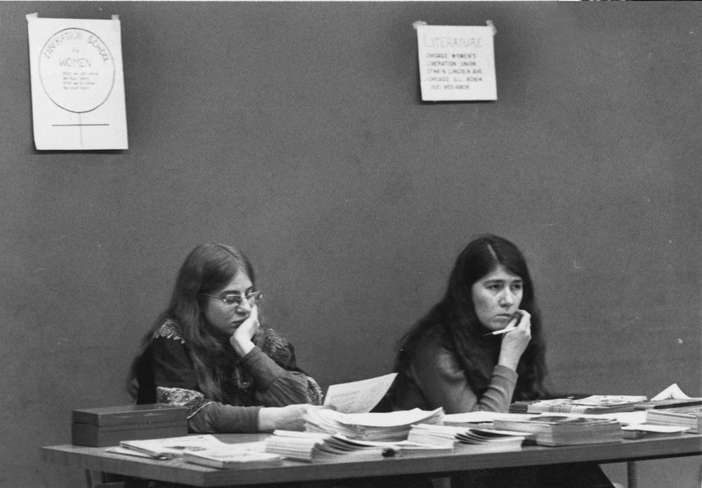 Penny and Laura - Liberation School, c. 1974