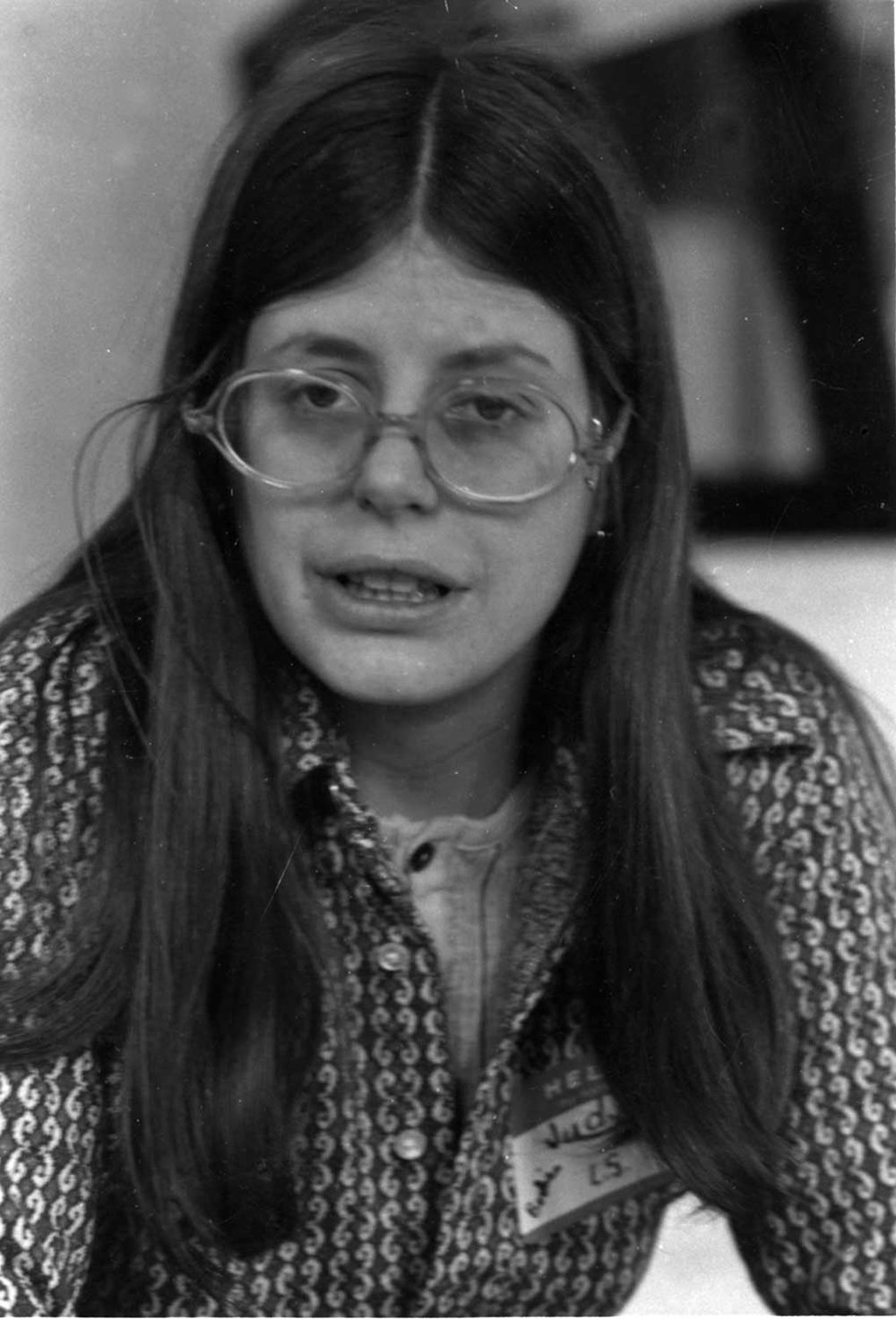 Judy- Liberation School, January 1974
