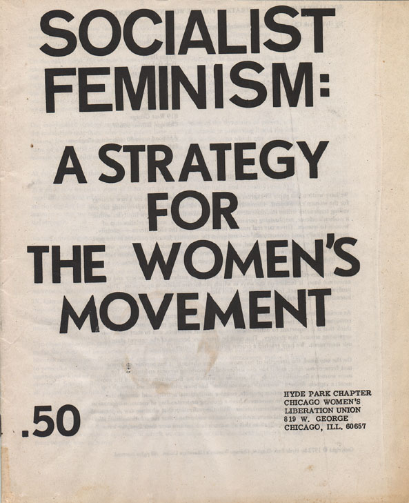 an introduction to socialist feminism a strategy for the womens movement