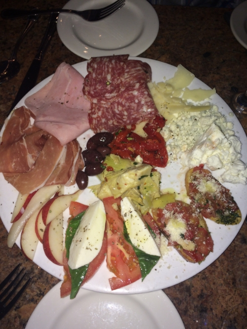 Such a delicious antipasto at Buon Appetito