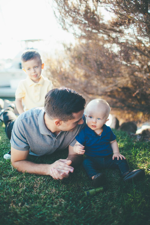 my three boys: Nick, calvin, and max