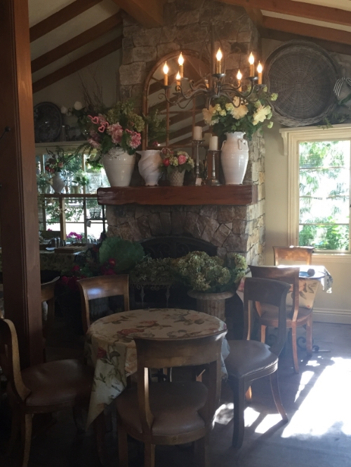 Thyme in the Ranch in Rancho Santa Fe, the cutest little cafe ever.