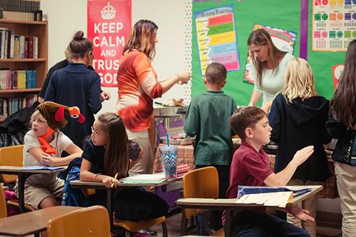 parent volunteers cornerstone christian school