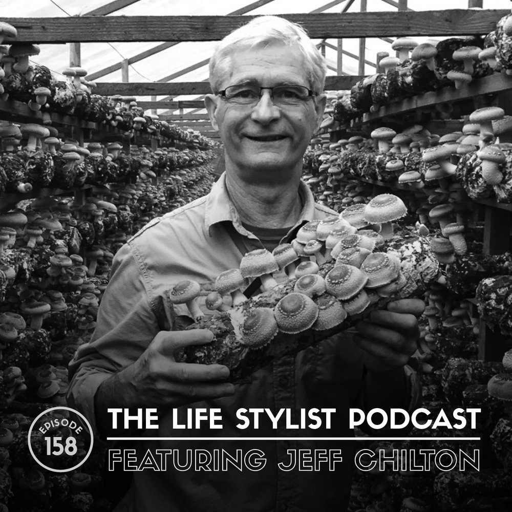 Jeff Chilton, raised in Pacific Northwest, studied ethnomycology at the University of Washington in the late sixties and started working on a commercial mushroom farm in Olympia, Washington in 1973. During the next 10 years, he became the production manager, responsible for the cultivation of over 2 million pounds of agaricus mushrooms per year, and was also involved in the research and development of shiitake, oyster, and enoki mushrooms, which resulted in the earliest U.S. fresh shiitake sales in 1978.  In the late seventies he was a founder of Mycomedia, which held 4 mushroom conferences in the Pacific Northwest. These educational conferences brought together educators and experts in mushroom identification, ethnomycology, and mushroom cultivation.  During this period Jeff co-authored the highly acclaimed book,  The Mushroom Cultivator , which was published in 1983.  In the 1980's he operated a mushroom spawn business and in 1989 he started Nammex, a business that introduced medicinal mushrooms to the US nutritional supplement industry. He traveled extensively in China during the 1990's, attending conferences and visiting research facilities and mushroom farms. In 1997 he organized the first organic mushroom production seminar in China.  Jeff's company, Nammex was the first to offer a complete line of Certified Organic mushroom extracts to the US nutritional supplement industry. Nammex extracts are used by many supplement companies and are noted for their high quality based on scientific analysis of the active compounds.
