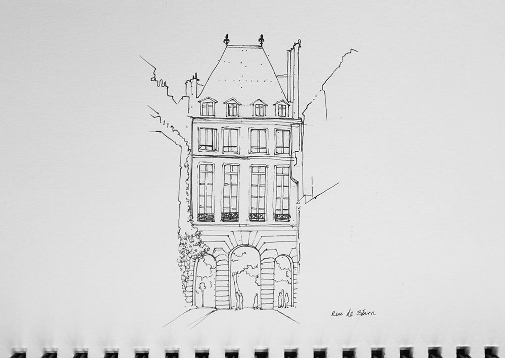 Rue de Bearn, Paris