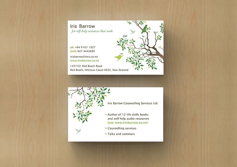 Iris Barrow Business Card