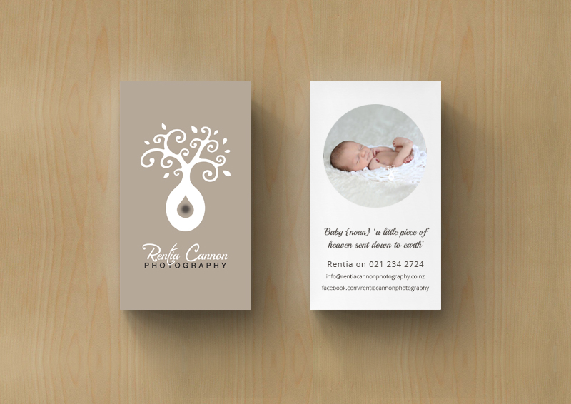 Rentia Cannon Photography Business Card