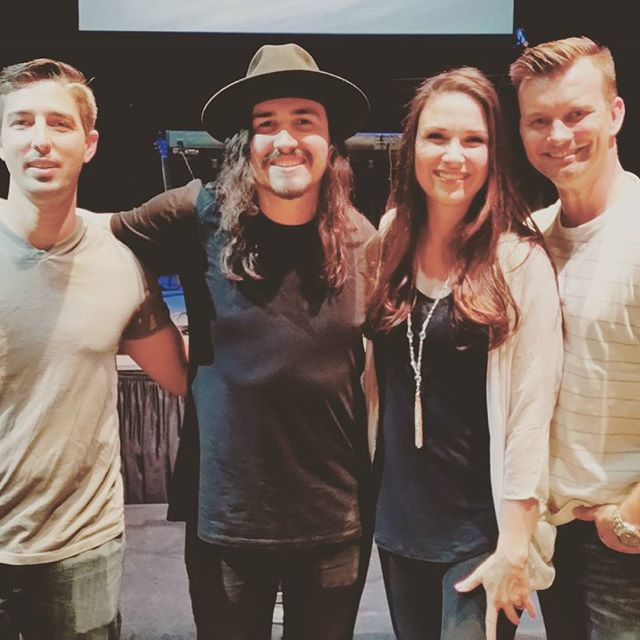 Had an awesome time last night opening for @jordanfeliz! He's super talented with a big heart to match!  AZ peeps - he's playing 12 more shows here over the next couple months.  Get more info at: extremefaithproductions.com #downtotherivertour