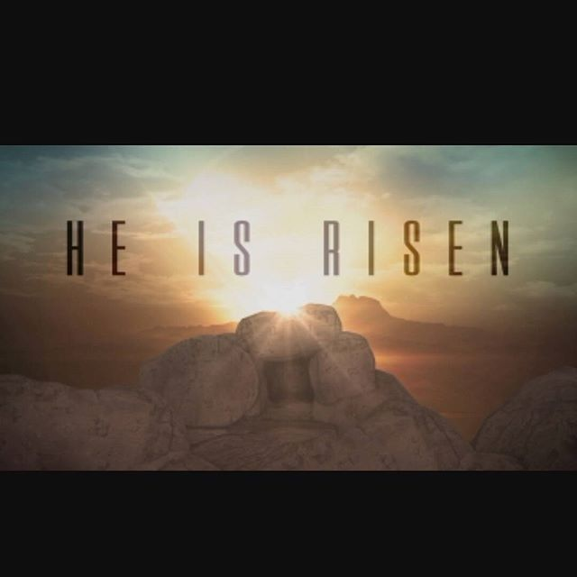 He is risen indeed!! So thankful for the hope and grace of my Savior Jesus! Happy Easter everyone!