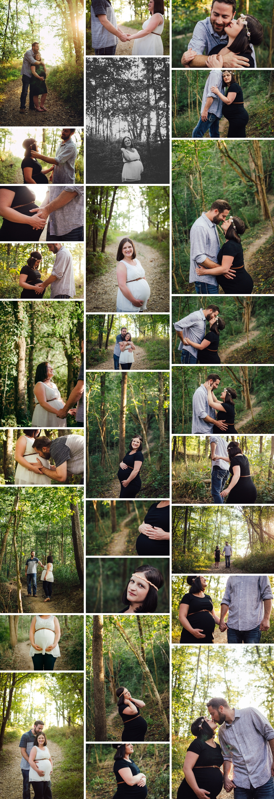 maternity session in greenwood indiana at souwestway park