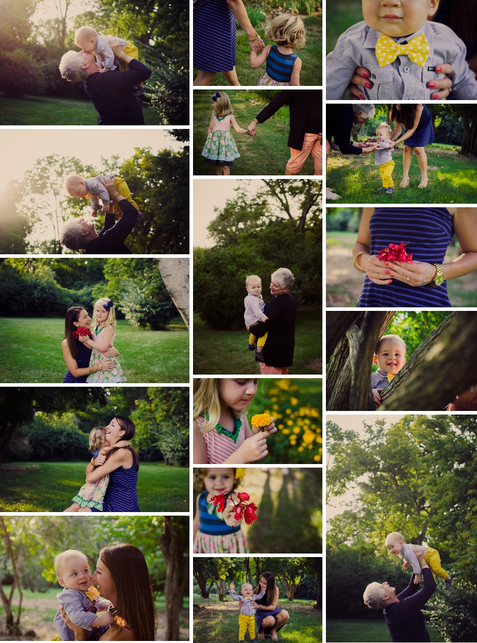 indianapolis mommy and me session in holcomb gardens