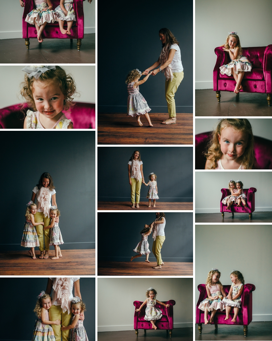 indianapolis studio session for mommy and me pictures
