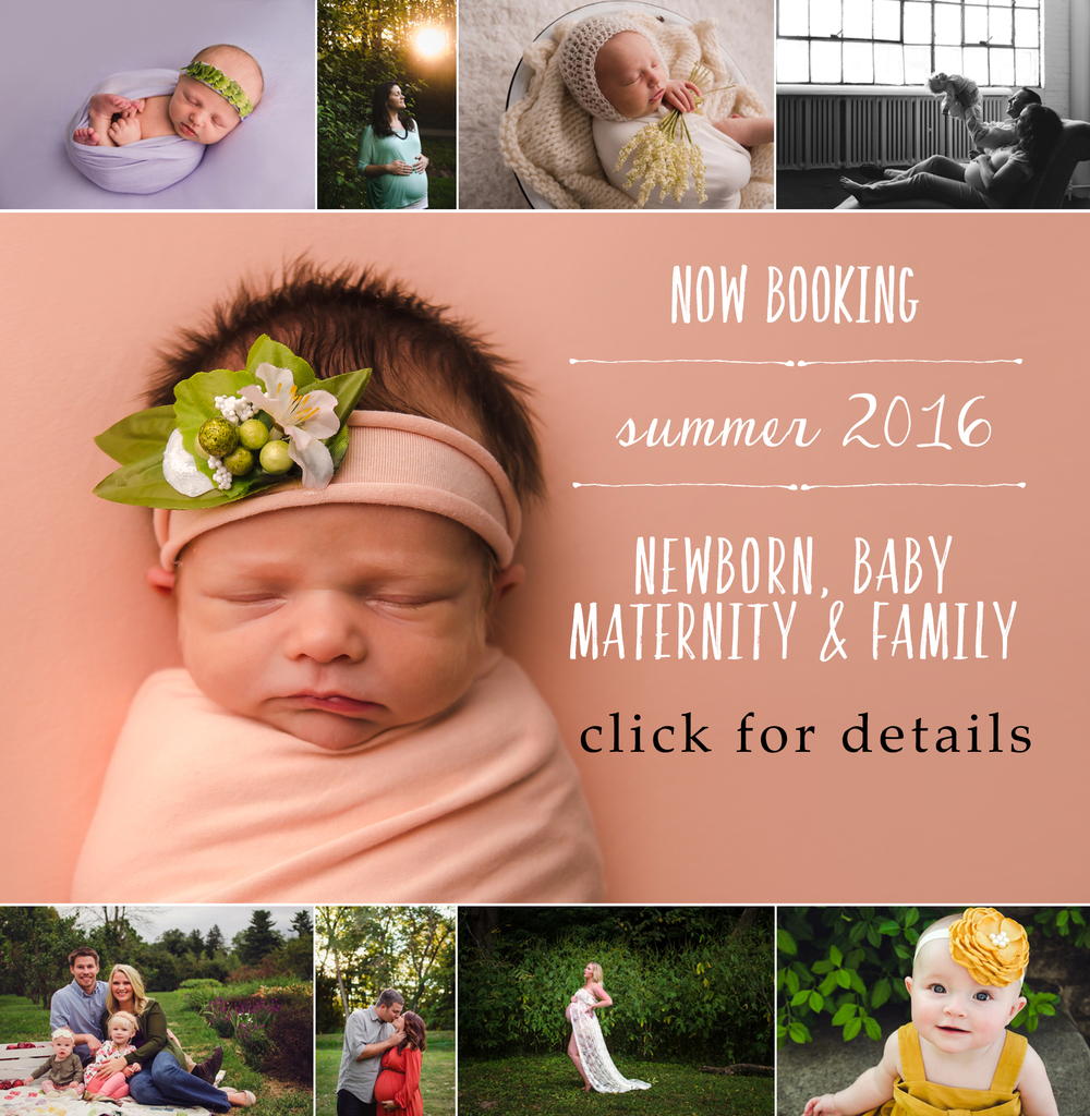 Ashlee Lauren photographs newborns, babies, and maternity sessions for the residents of Indianapolis.