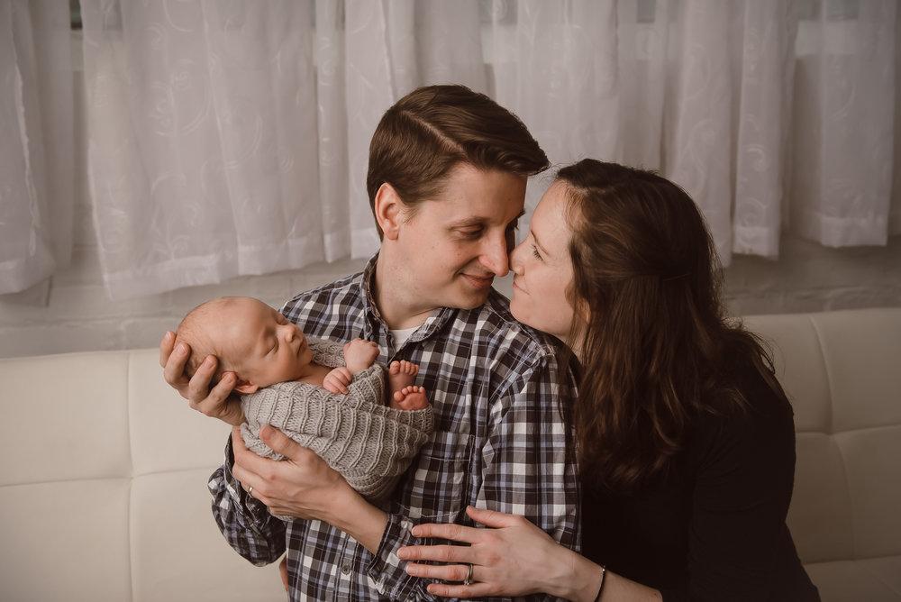Taken at Ashlee Lauren's newborn studio in downtown Indianapolis