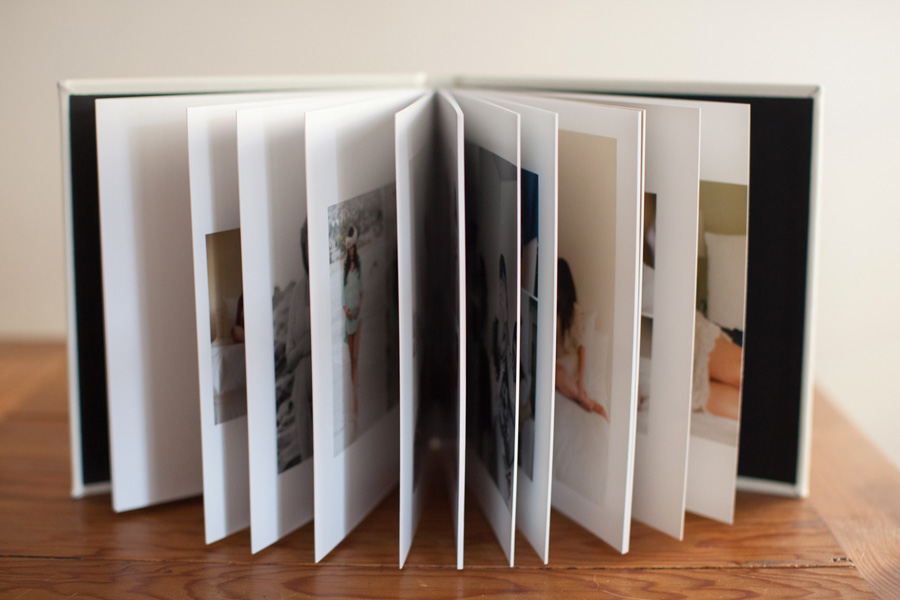 press printed photo album with thick packges