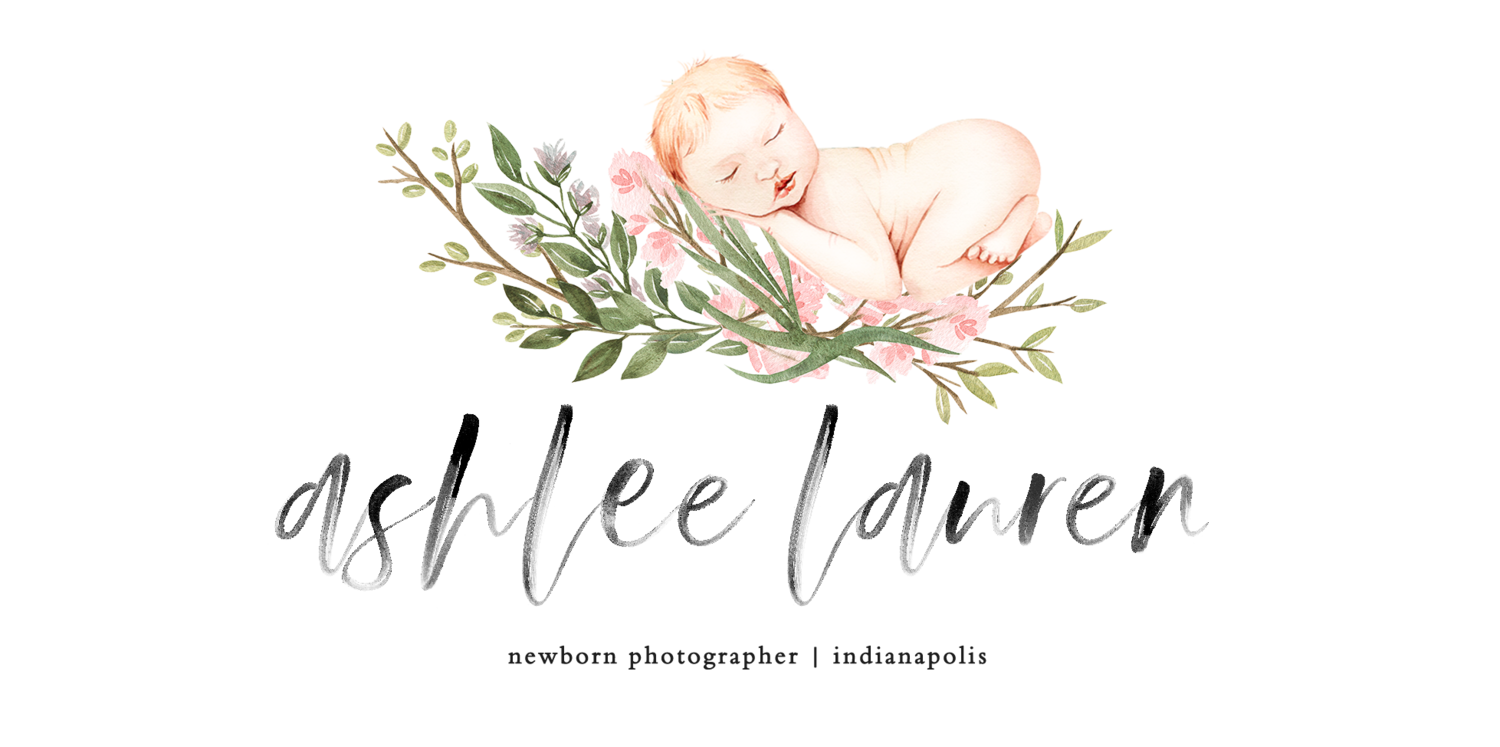 Indianapolis newborn photography | $100 OFF | Ashlee Lauren Photo