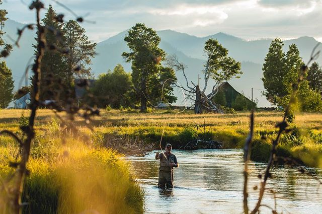 Sunday Funday. Get out there and explore. #videoproduction #sundayfunday #flyfishing #saintwest 📷 by @sean_hrtn