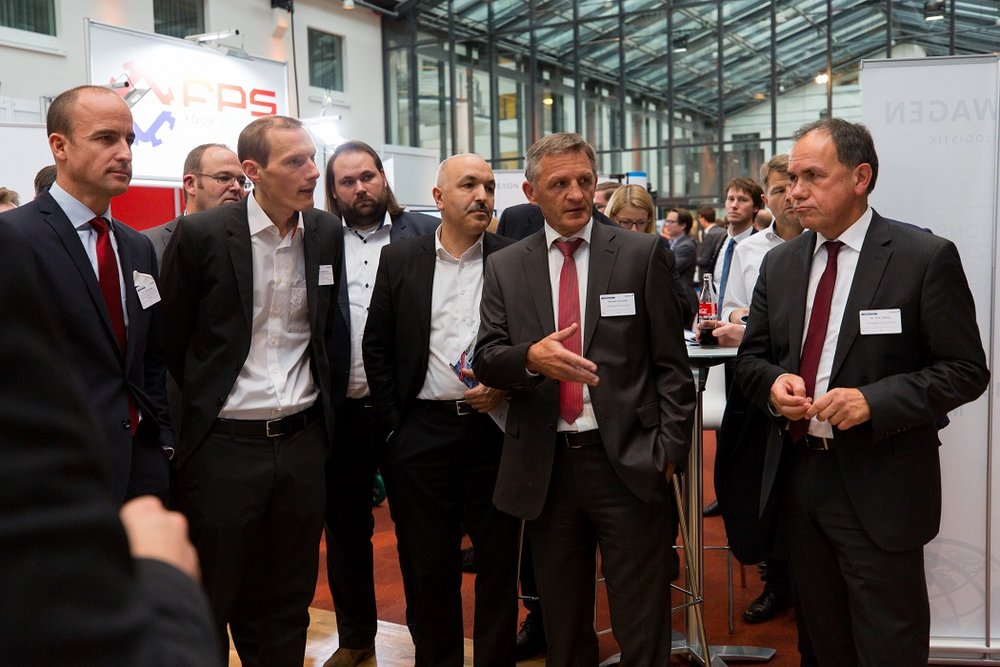 PRODUCTION & LOGISTICS FORUM - Ausstellungsrundgang
