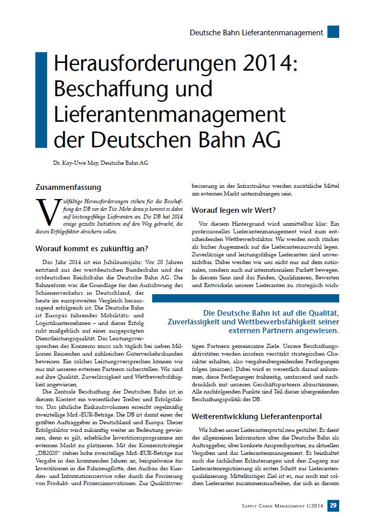 Herausforderungen Beschaffung und Lieferantenmanagement der Deutschen Bahn AG.png