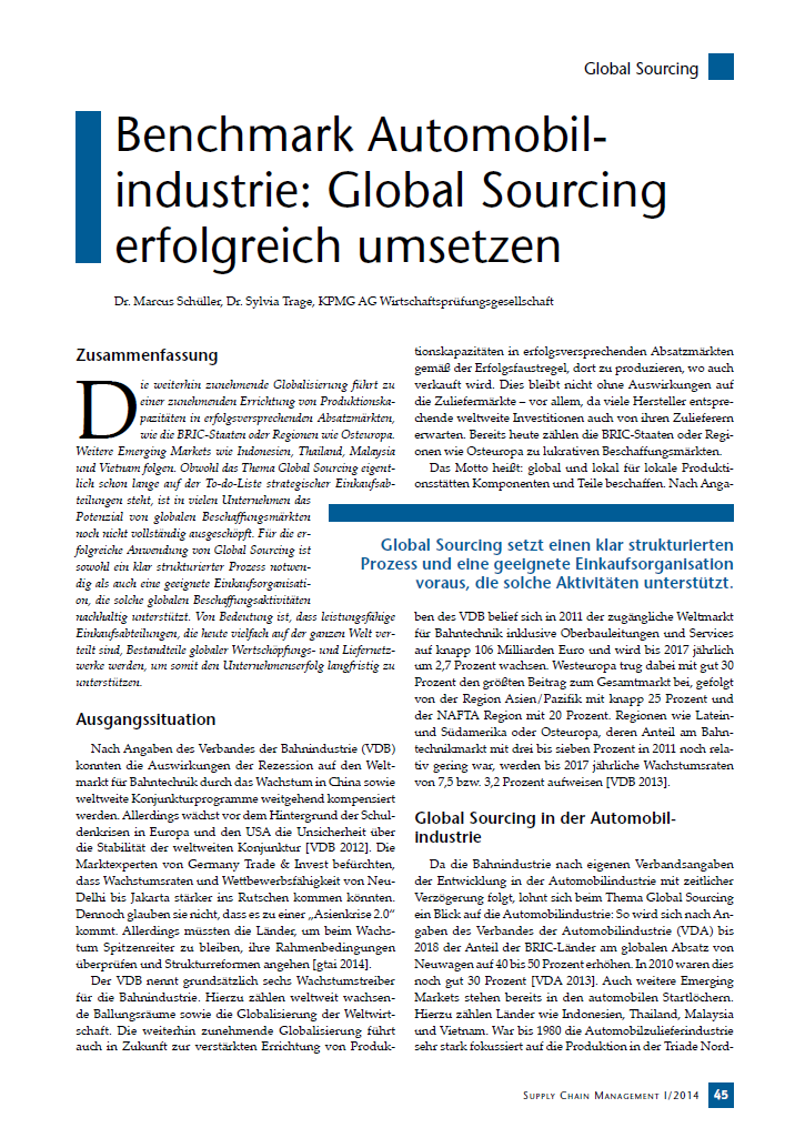 Benchmark Automobilindustrie - Global Sourcing erfolgreich umsetzen.png
