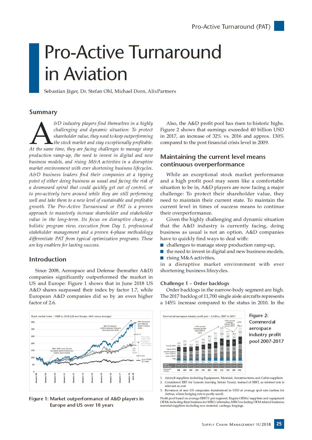 Pro-Active Turnaround in Aviation — IPM