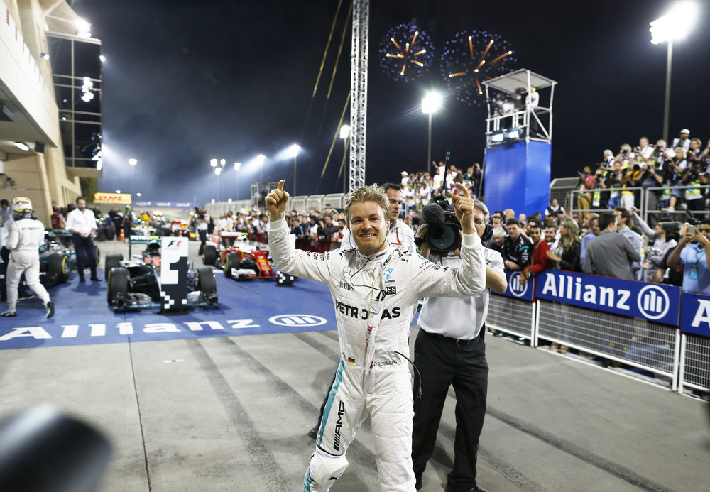 Rosberg wins again in Bahrain (Pic: Mercedes)