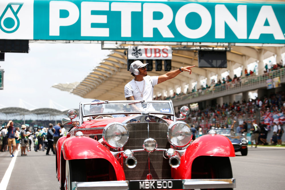 """This car is more reliable than my race car. Toto, I want this car for the next race please."" (Pic: Mercedes)"