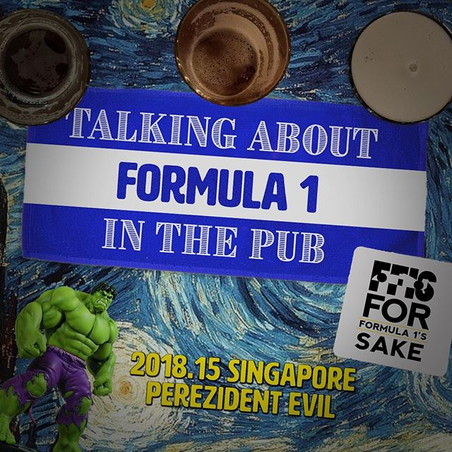 Yes there was no gp this week but you can still listen to us banging on about Singapore from the week before. Link in bio!  #singaporegp #f1 #formula1