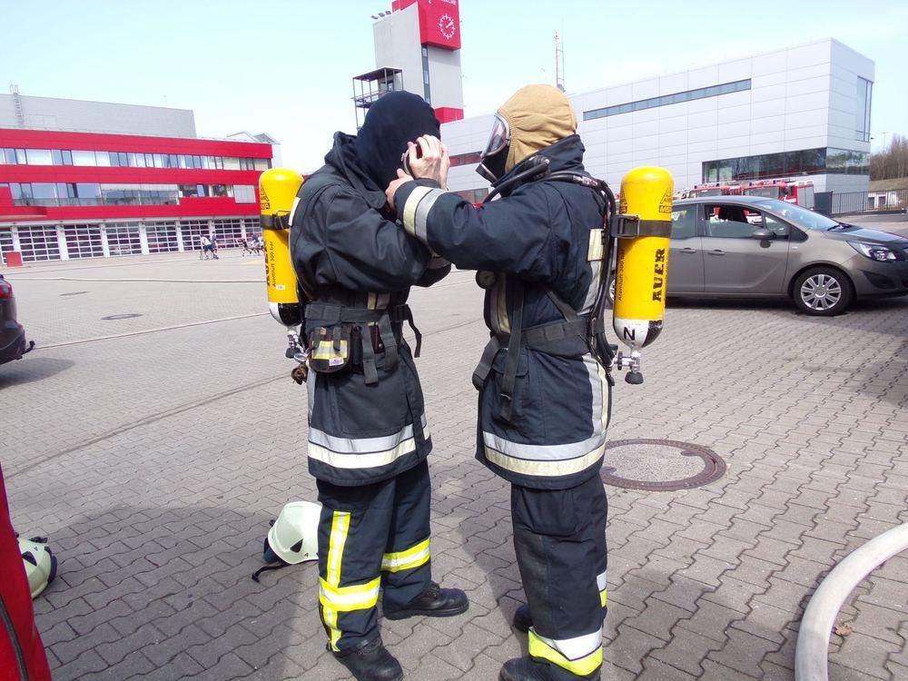Feuerwehrarbeit ist Teamwork