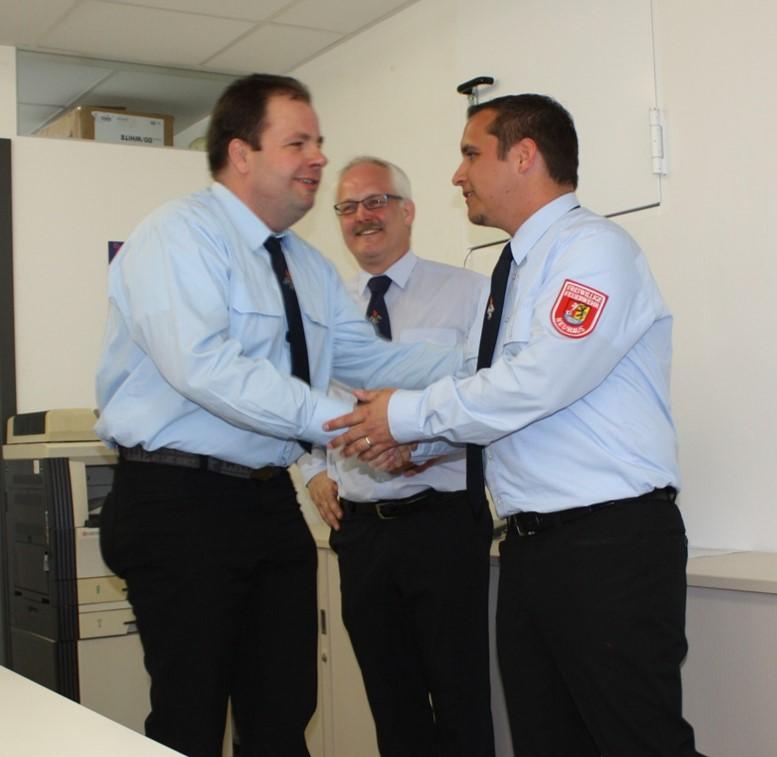 Patrick Sorger ist als 2. Kommandant gewählt worden