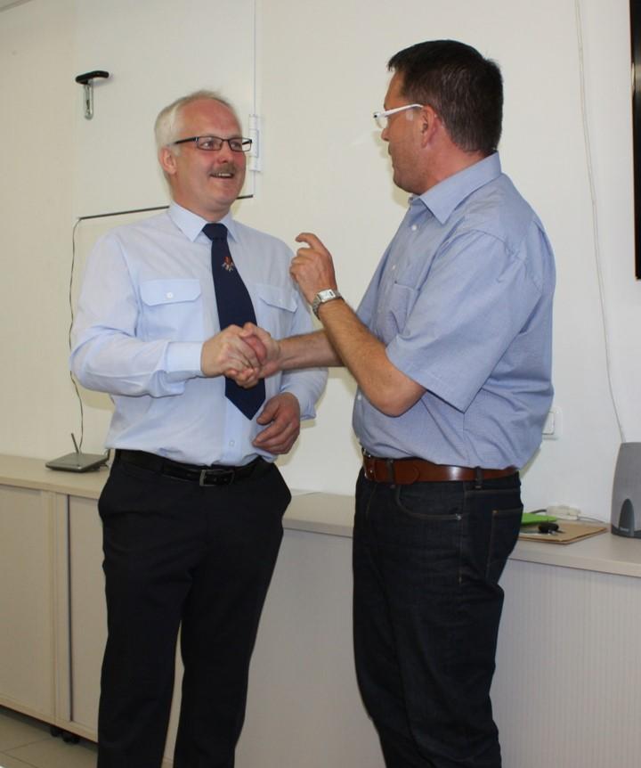 Erwin Bergner wird wiederholt zum 1. Kommandaten gewählt