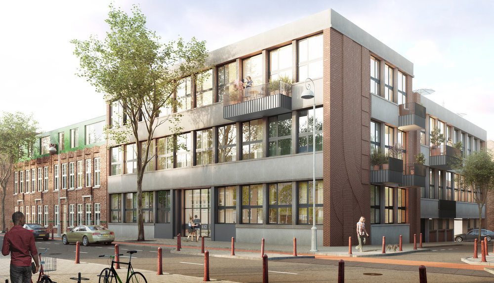 ZEE Smartlofts: Transforming a former fashion school into a mixed community building