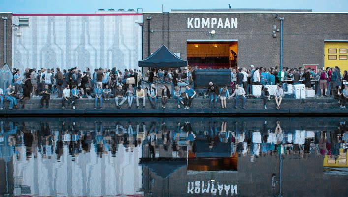 Bierbrouwerij en proeflokaal   Kompaan, écht Haags bier