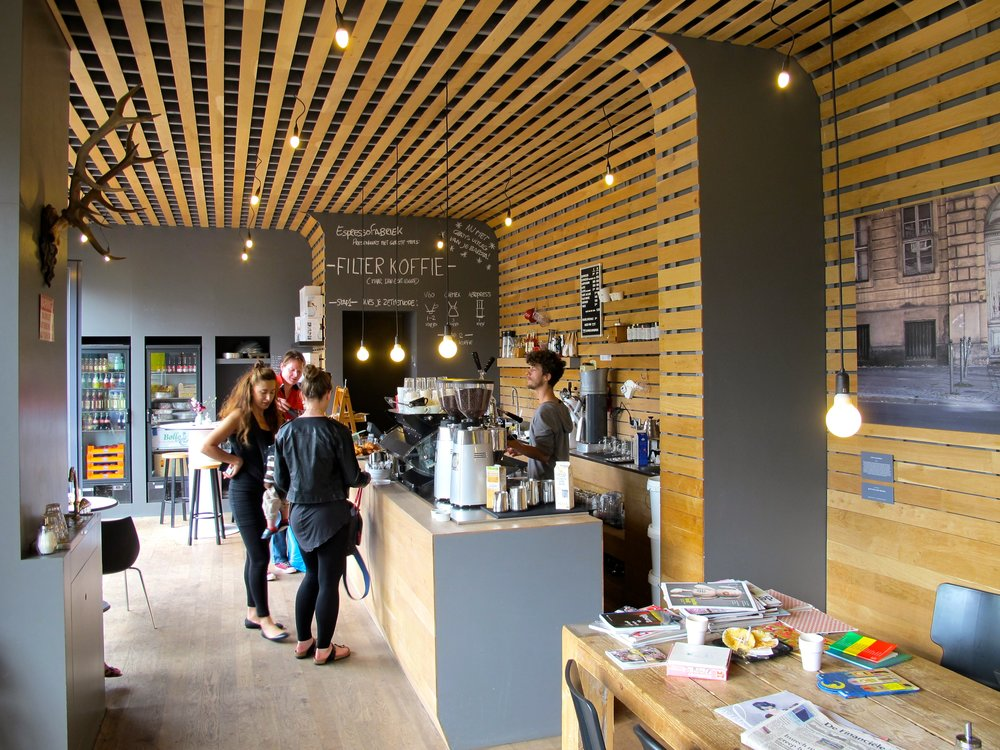 De hippe Espressofabriek heeft een tweede locatie geopend op IJburg
