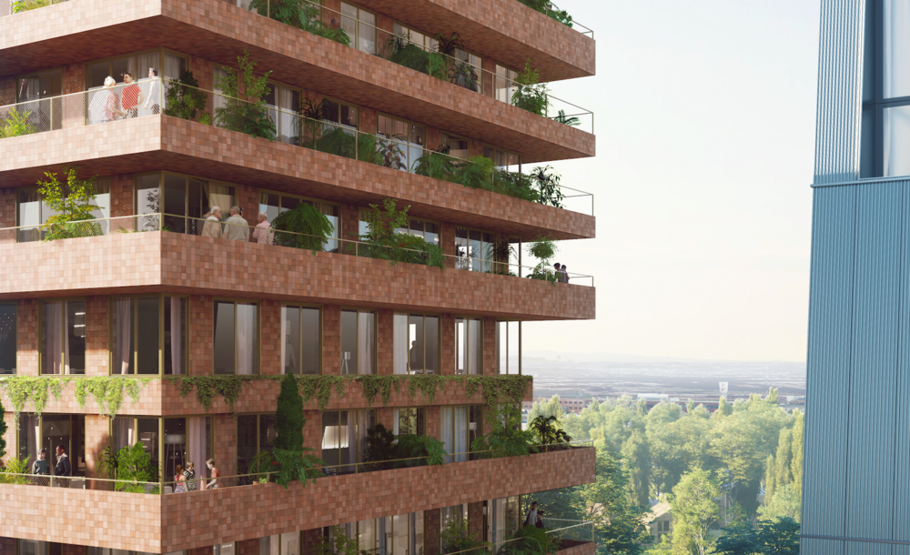 Westerpark West: Invited competition for the design of two housing blocks