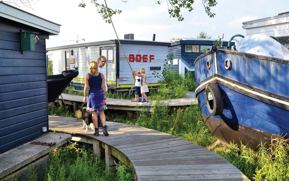 De Ceuvel: How a polluted brownfield site became THE creative eco-hub of Amsterdam