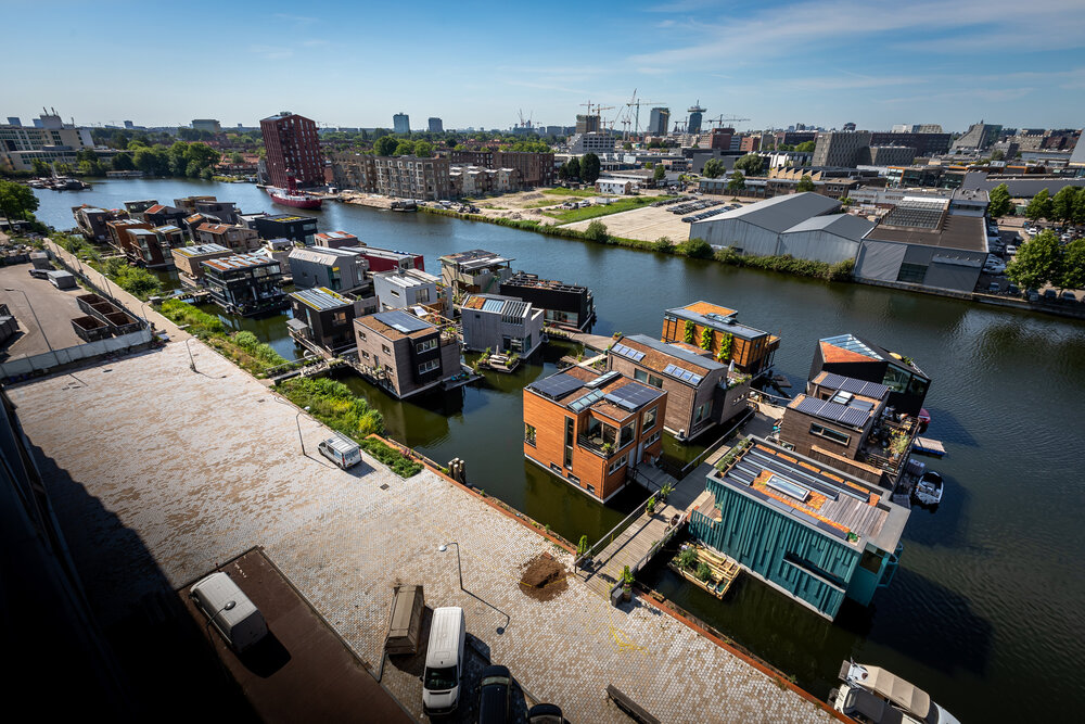 Schoonschip: A sustainable floating neighbourhood in the North of Amsterdam