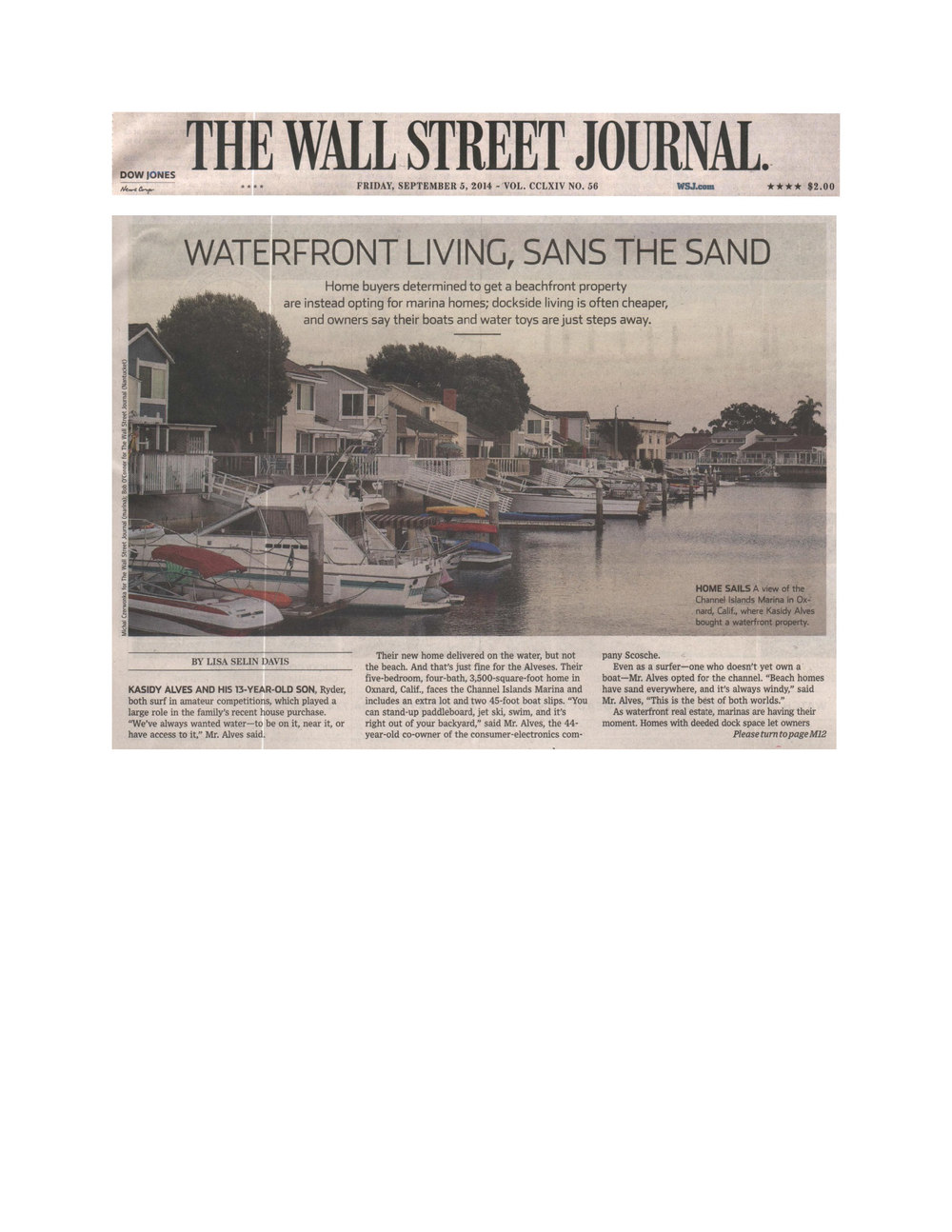 The Wall Street Journal- Waterfront Living, Sans the Sand-9.5.14_Page_1.jpg