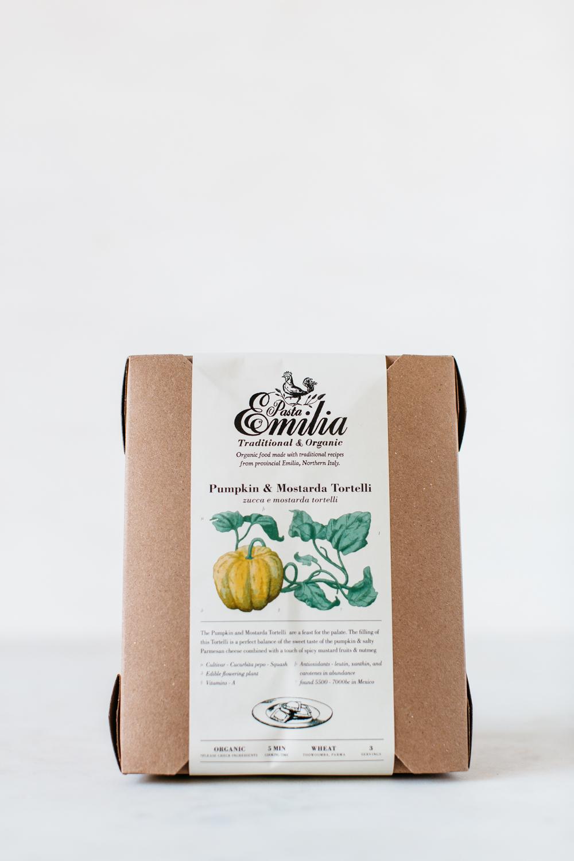 Pumpkin & Mostarda Tortelli