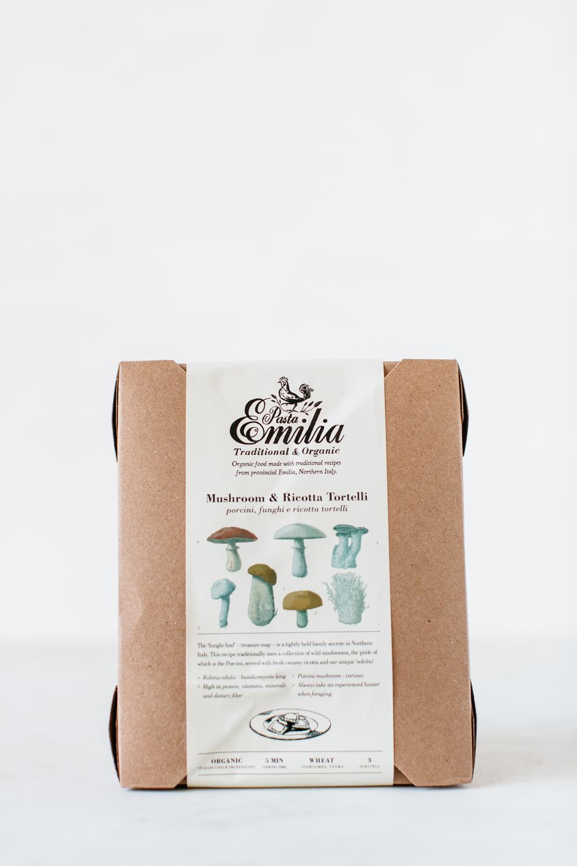 Mushroom & Ricotta Tortelli