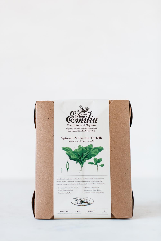 Spinach & Ricotta Tortelli