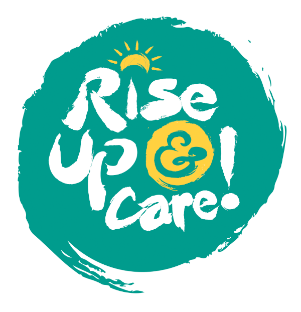 The one and only, original Rise Up & Care logo!