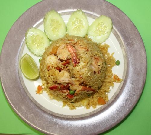 Gebratener Reis - Khao Pad