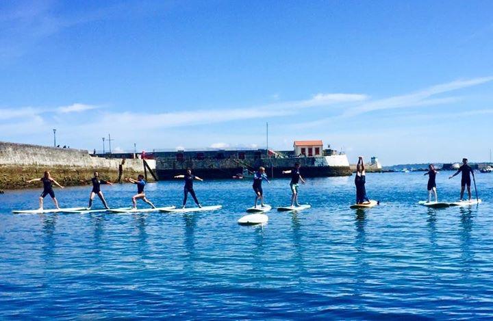 Découvrez le paddle-yoga -