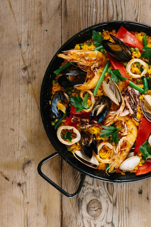 Gringo Paella seafood