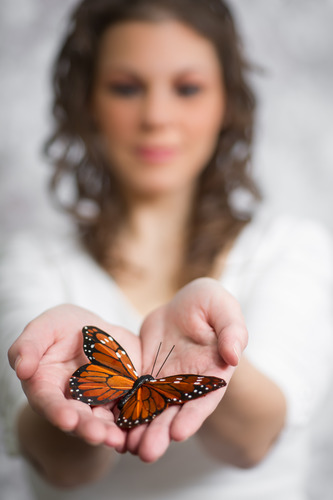 Wanting more from God means wanting change in our lives. Like the butterfly, He can change us to be more like Christ.